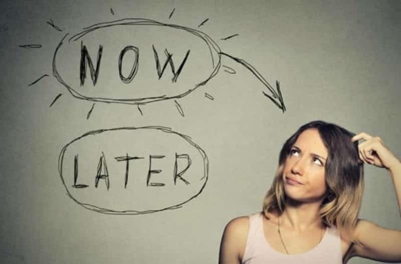 Ότι μπορείς να κάνεις για σήμερα μη το αναβάλλεις για αύριο. life coach μανώλης Ισχάκης nlp holistic result coaching
