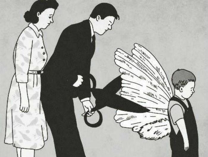 Γονέα σταμάτα να κόβεις τα φτερά των παιδιών σου life coach μανώλης Ισχάκης nlp holistic result coaching
