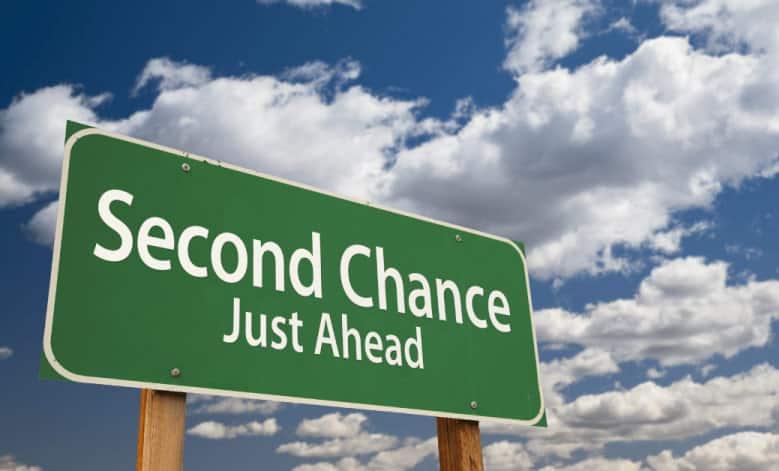θέλω μια δεύτερη ευκαιρία